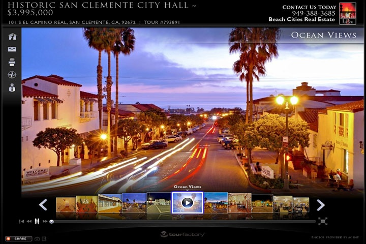 Historic San Clemente City Hall For Sale - 101 S El Camino Real, San Clemente, CA 92672