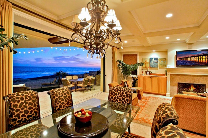 Southern california beach front homes beach front homes for Southern california interiors