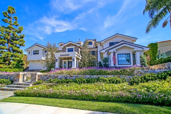 Big Houses On The Beach big canyon broadmoor homes - beach cities real estate