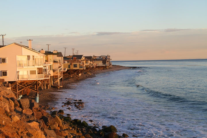 County Line Beach Front Homes For Sale in Malibu, California