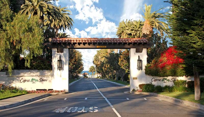 Cyprus Shore San Clemente Gated Community