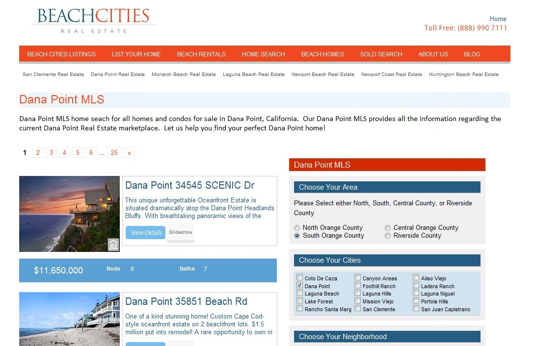 Dana Point MLS - Dana Point MLS Listings