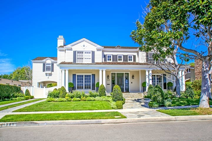 Dover Shores Homes For Sale In Newport Beach, California