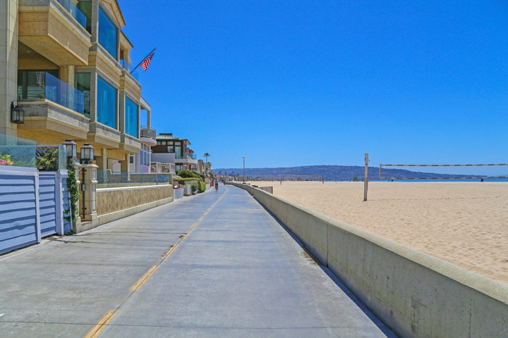Hermosa Beach Beachfront Homes For Sale in Hermosa Beach, California