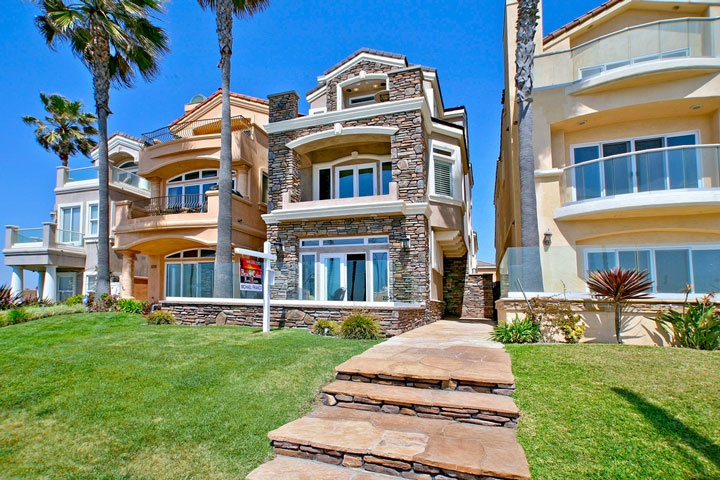 Huntington Beach Beach Front Homes - Beach Cities Real Estate