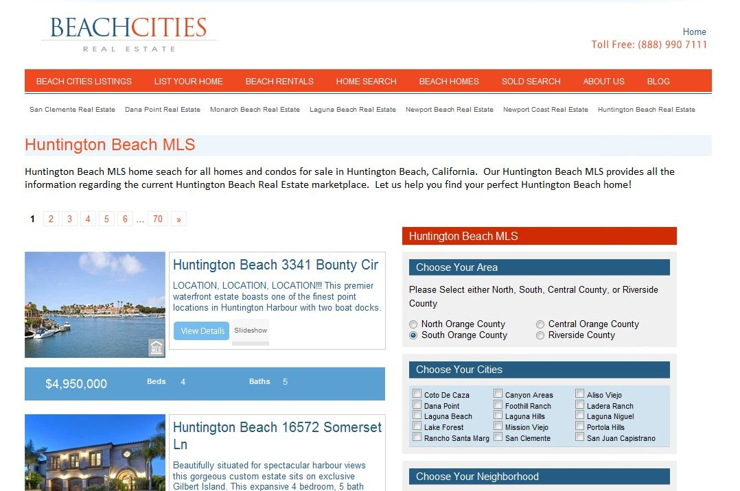 Huntiington Beach MLS - Huntington Beach MLS Listings