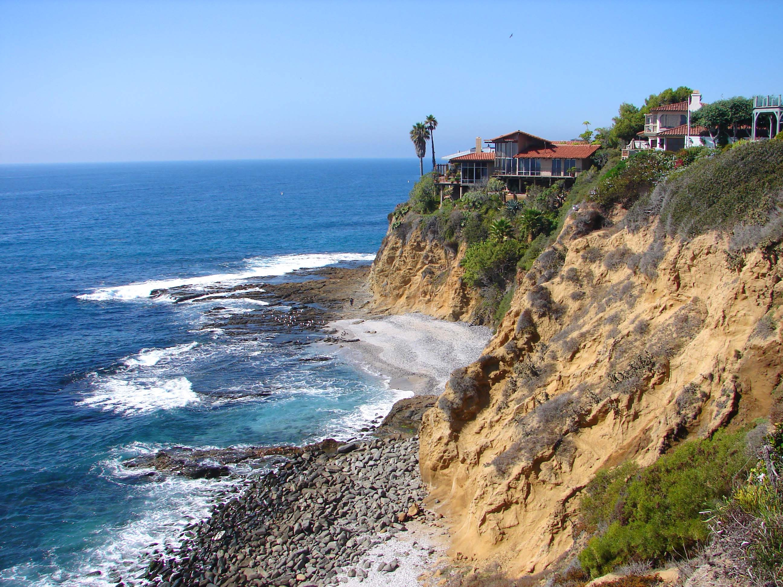 Information on Foreclosure, Bank Owned and Short Sale Properties in Laguna Beach, California.  One of the most expensive real estate in the country.