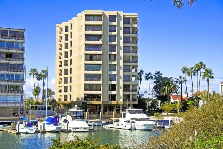 Lido Buildinig 601 Newport Beach | Bay Front Condos For Sale