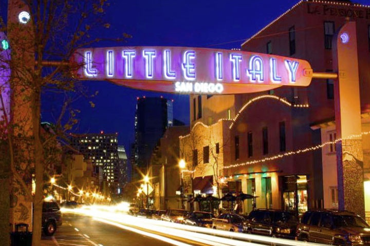 Litle Italy Conods San Diego | Downtown San Diego Real Estate