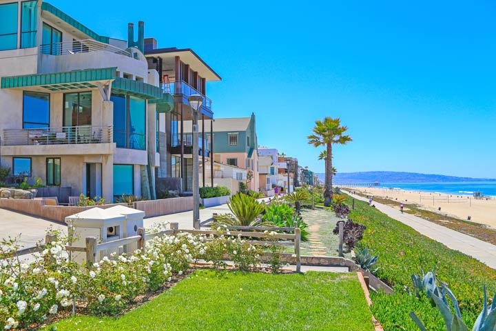 Manhattan Beach Beachfront Homes For Sale In Manhattan Beach, California