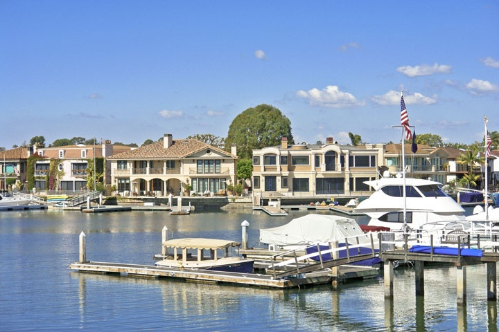Newport Beach Bay Front Homes Beach Cities Real Estate
