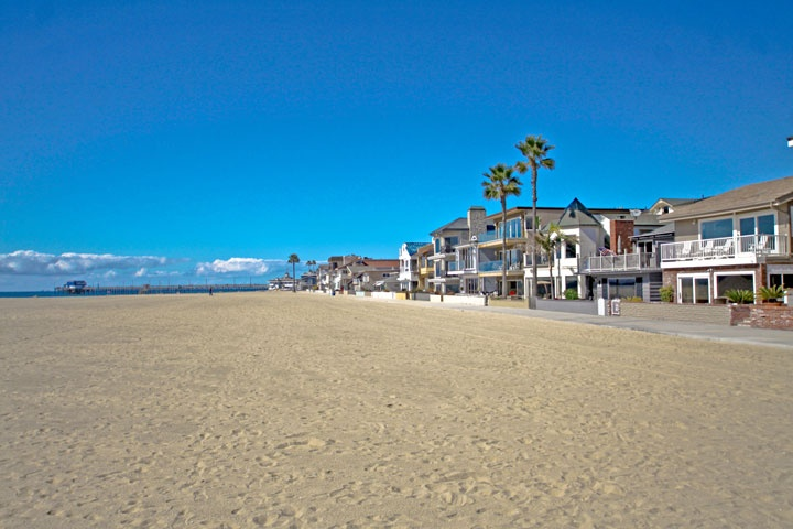 Newport Beach Beach Front Homes - Beach Cities Real Estate