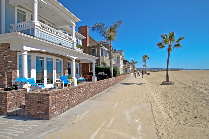 Newport Beach Ocean Front Homes - Beach Cities Real Estate