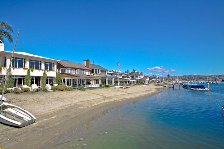 Newport Beach Water Front Short Sale Homes For Sale In Newport Beach, California