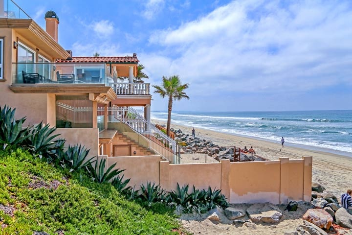 Oceanside Beach Front Homes For Sale in Oceanside, CA