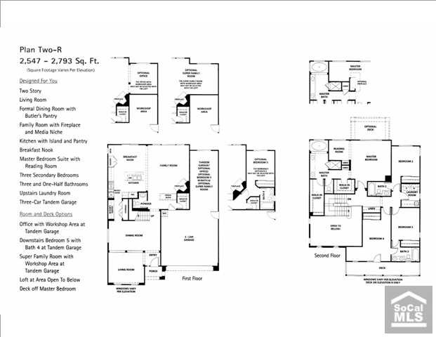 The Reserve South San Clemente Community Floorplan 2