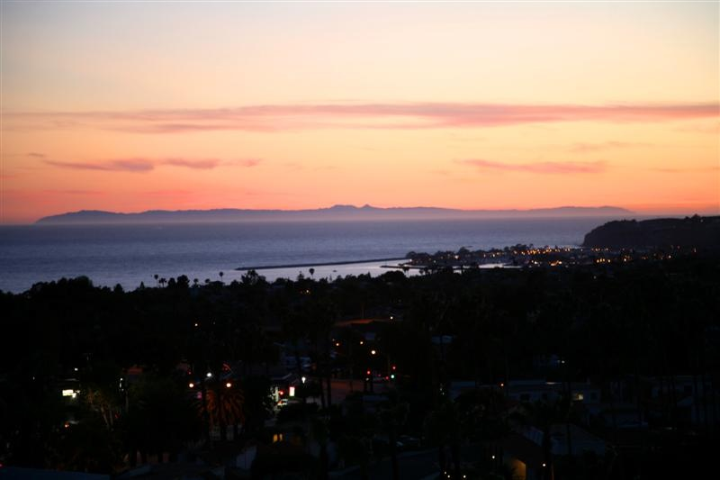 Sea Pointe Estates Sunset and Ocean View In San Clemente, California