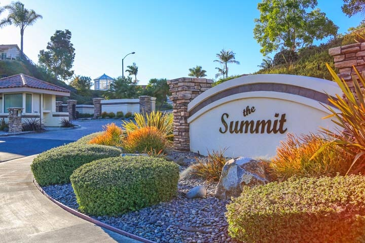 Summit Community Homes For Sale In Encinitas, California