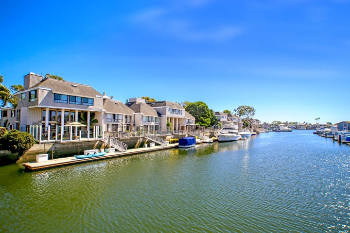 southern california water front homes beach cities real