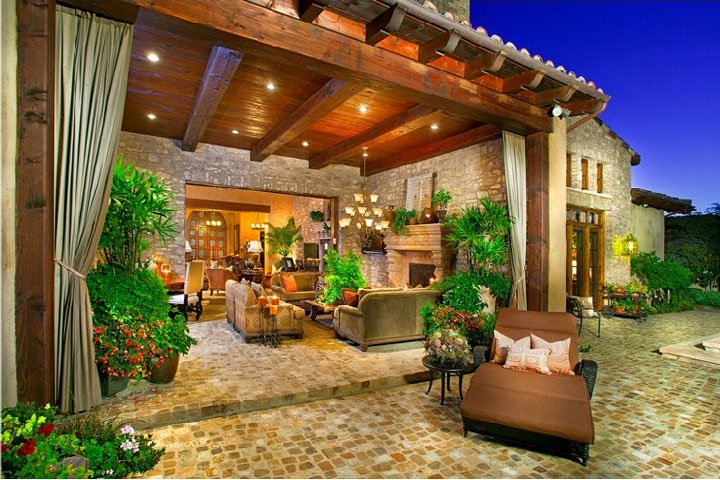 The bridges rancho santa fe homes beach cities real estate for Santa fe style homes