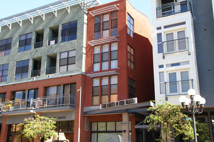 The lofts at 777 sixth san diego condos beach cities - Loft industriel san diego californie ...