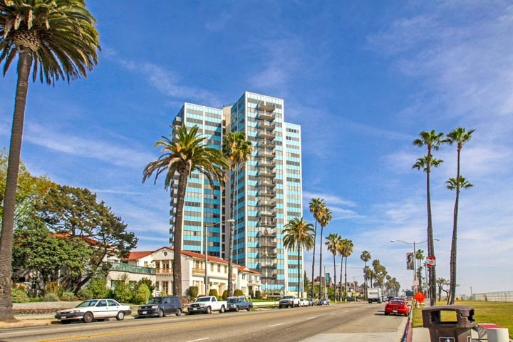Galaxy Towers Condos For Sale in Long Beach, California
