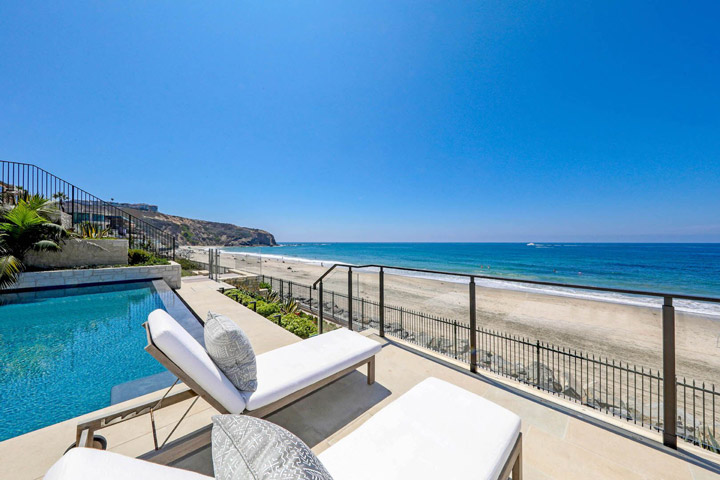 39 Strand Beach Drive Dana Point Beach Front Home