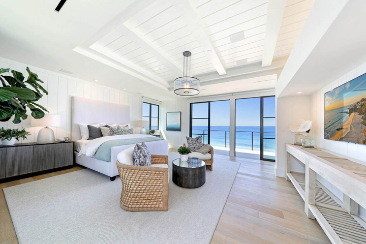 39 Strand Beach Drive Dana Point Master Bedroom