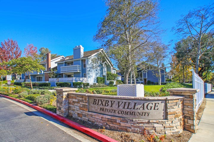 Bixby Village Community Homes For Sale in Long Beach, California
