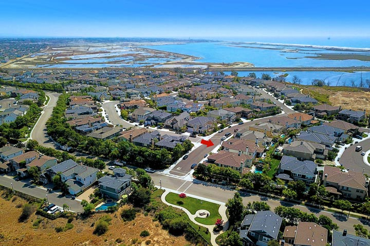 Brightwater Huntington Beach Aerial View