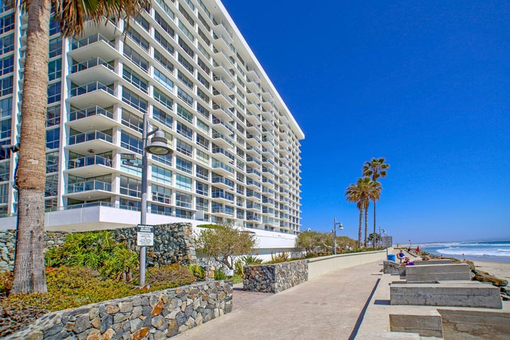 El Camino Tower Condos For Sale In Coronado, California