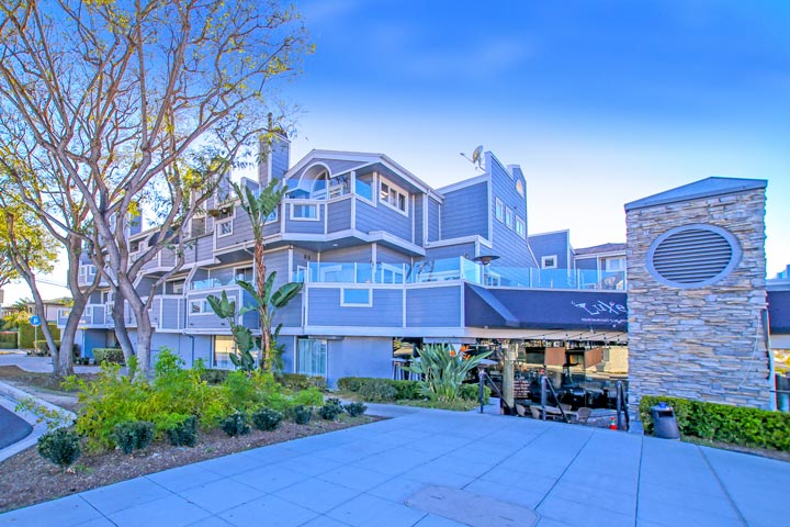 Harbor Cove Condo Complex In Dana Point, California