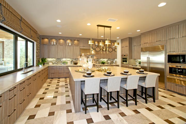 Robertson Ranch Terraces Model Home Kitchen In Carlsbad, California