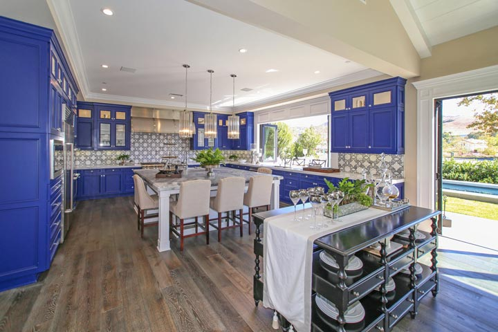 The Oaks Farms Model Home Kitchen