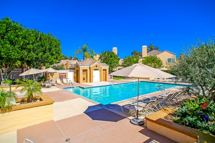 Villa South Aliso Viejo Community Pool