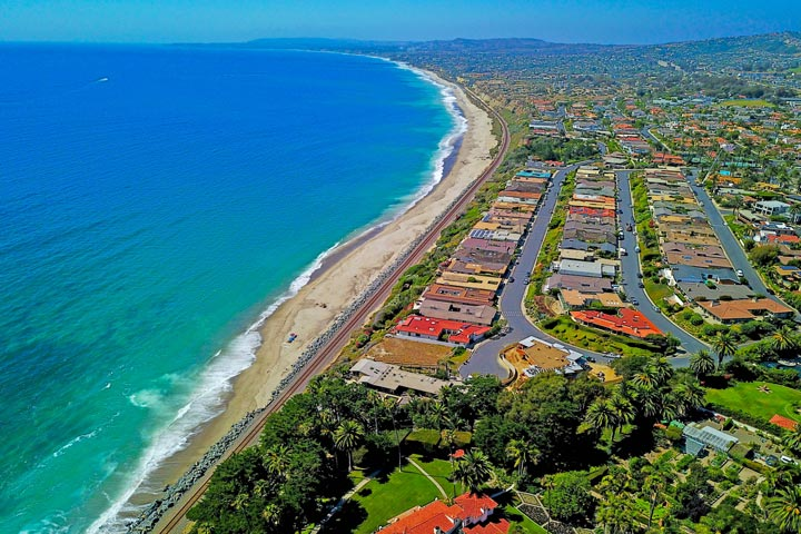 Cyprus Shore San Clemente Aerial View