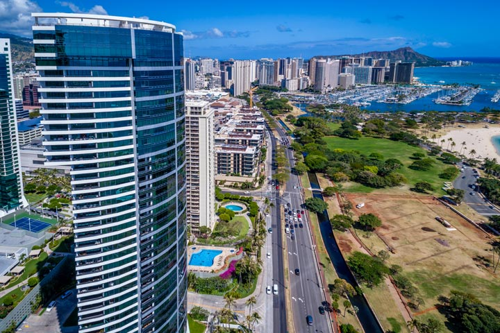 Nauru Tower Condos For Sale in Honolulu, Hawaii