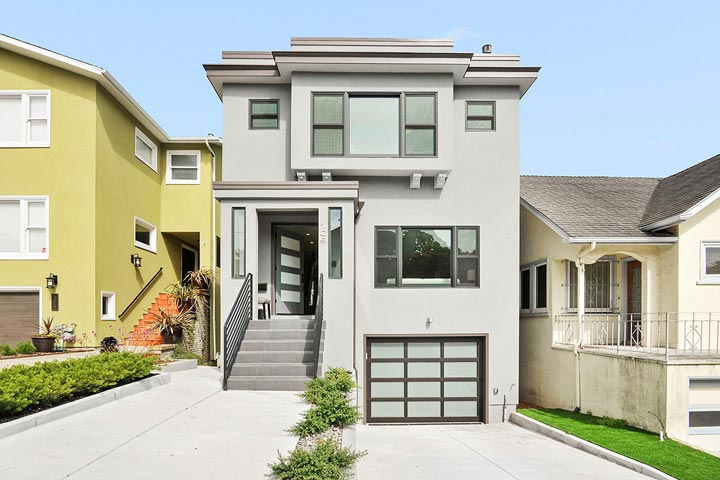 West portal homes for sale beach cities real estate for Modern homes san francisco