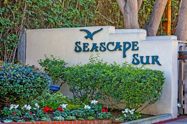 Seascape Sur Community Sign