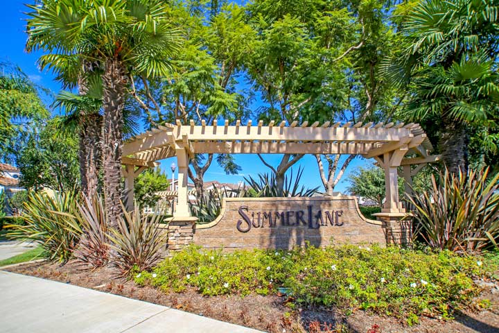 Summer Lane Huntington Beach Community
