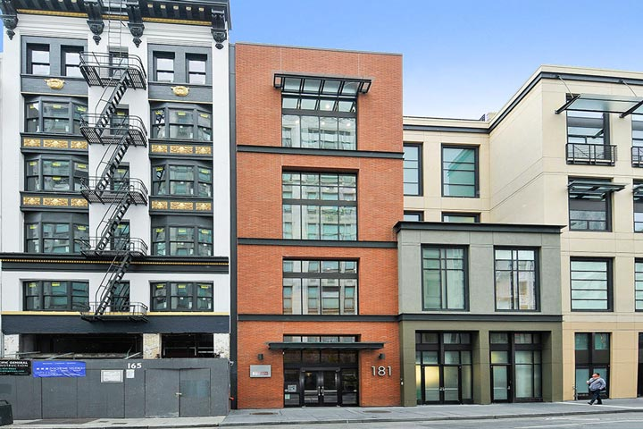 Downtown Condos For Sale in San Francisco, California