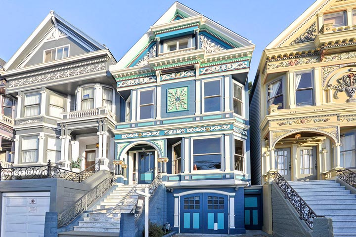 Haight ashbury homes for sale beach cities real estate for Mansions in san francisco for sale