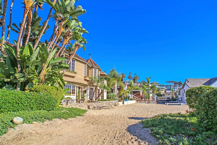 Corona Del Mar Beach Front Homes