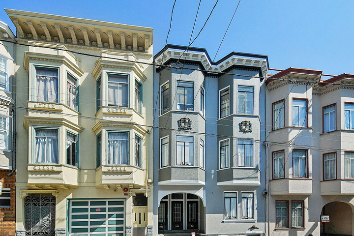 Nob hill san francisco homes beach cities real estate for Mansions in san francisco for sale