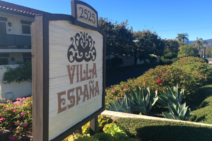 Villa Espana Condos For Sale in Santa Barbara, California