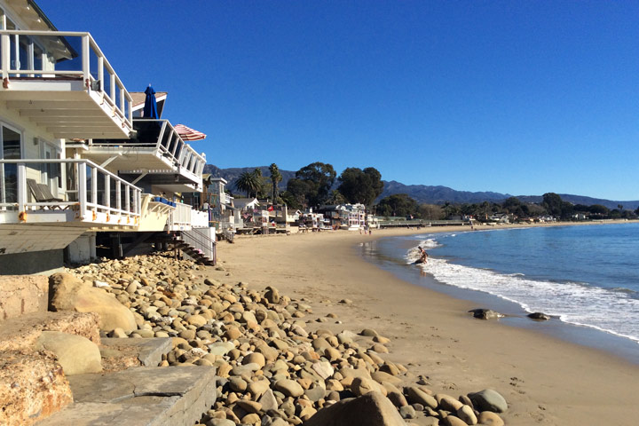 Santa Barbara Ocean Front Homes For Sale in Santa Barbara, California