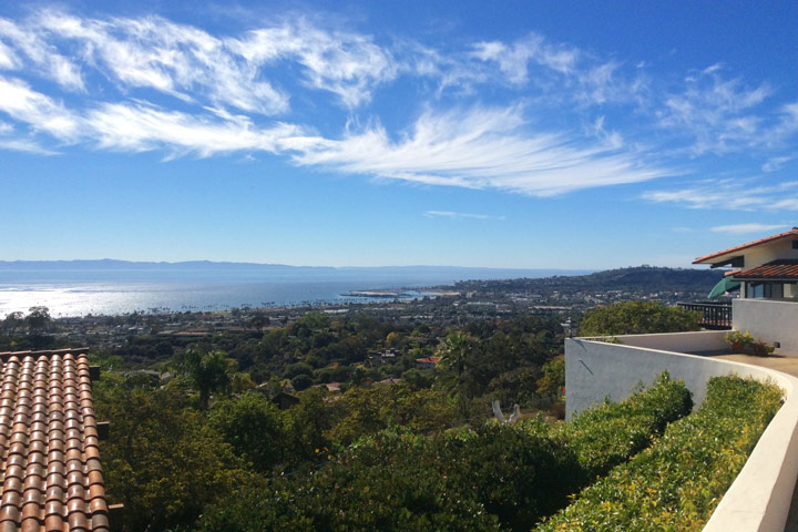Santa Barbara Ocean View Homes For Sale in Santa Barbara, California