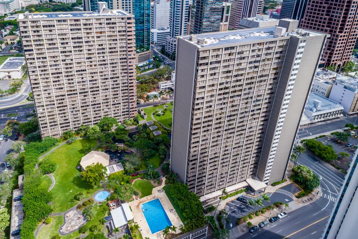 Kukui Plaza Condos For Sale in Honolulu, Hawaii